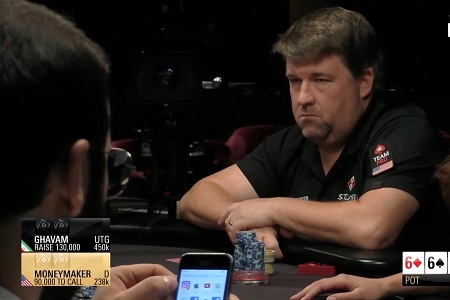 Chris Moneymaker proves he's still got game