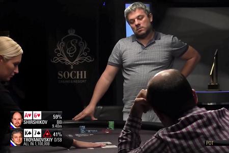 The final hand from PokerStars Championship Sochi